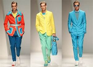 Men's Fashion How to wear bright colors
