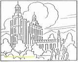 Coloring Temple Synagogue Pages Lake Salt Getdrawings Getcolorings sketch template