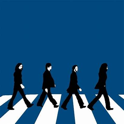 Abbey Road Beatles Clipart Clip Silhouette Graphic