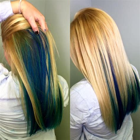 Shades Of Blonde Peacock Hair Styles Pinterest