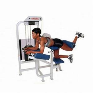 Life Fitness Pro 1 Glute Machine de musculation de