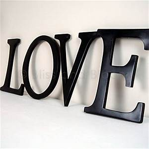black wall love letters bliss and bloom ltd With love wall letters