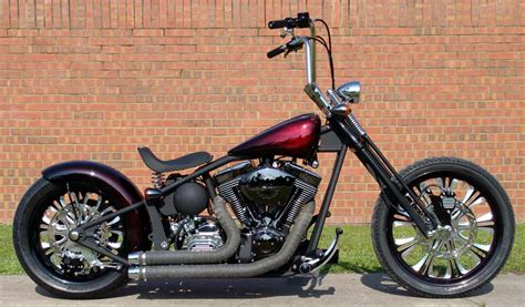 Harley Davidson Softail Custom Bobber Chopper