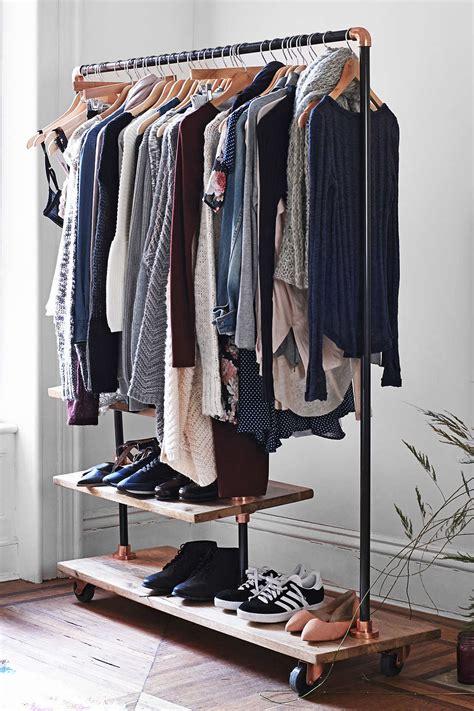wardrobe  check  freestanding clothing racks