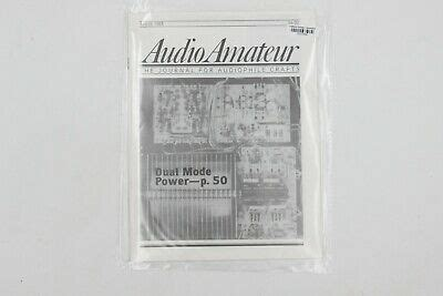 audio amateur    vintage amp magazine dual mode