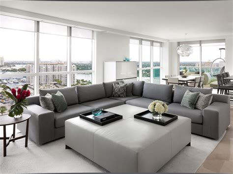 floor and decor fort lauderdale modern dining and living room benjamin hgtv