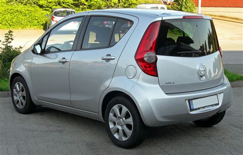 Opel Agila by File Opel Agila B Rear 2 Jpg