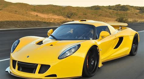 Top 10 Fastest Production Cars In The World » Alltoptens.com