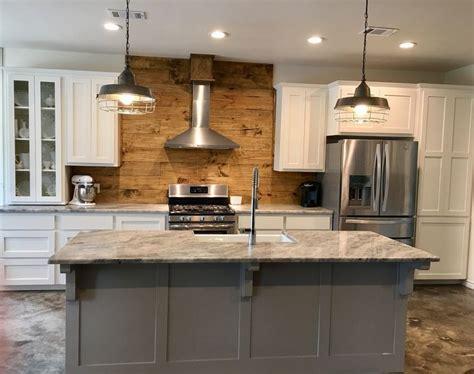 farmhouse kitchen shaker cabinets creek by mitch ginn industrial farmhouse kitchen