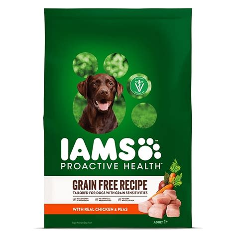 proactive health grain  dry dog food iams