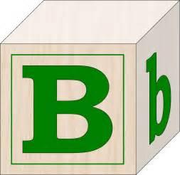 Building Blocks Letter B Clip Art