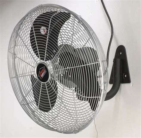 xtreme garage fan xtreme garage 18 quot 3 speed industrial oscillating wall fan