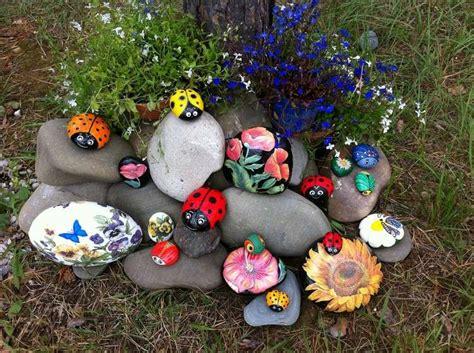 Bastelideen Für Den Garten by Steinfiguren F 252 R Den Garten Basteln Zum Gestalten Des