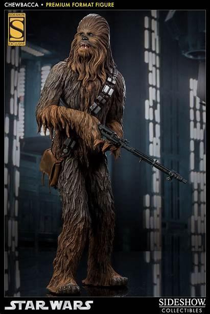 Chewbacca Wars Star Sideshow Figure Premium Format