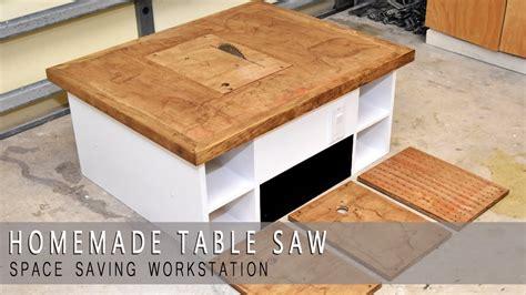 homemade table  modular plans