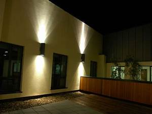 Flood Light Glass Led Wall Uplighter Downlighter Ireland By Veelite