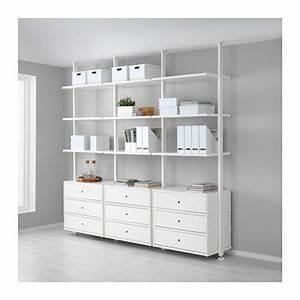 Offenes Schranksystem Ikea : elvarli 3 sections ikea ~ A.2002-acura-tl-radio.info Haus und Dekorationen