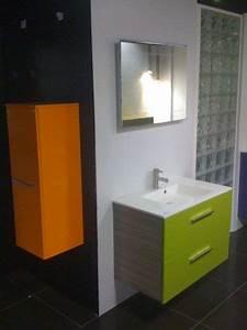 Meuble Salle De Bain Orange. meuble de salle de bain composition ...