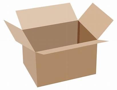 Open Box Cardboard Clip Onlinelabels Svg