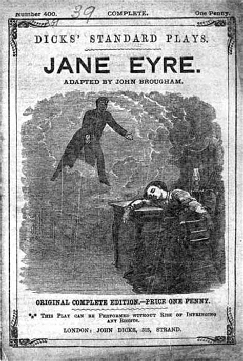 Title-page, Jane Eyre by John Brougham