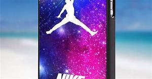 Nike Jordan nebula iPhone 4/4s/5/5s/5c Case by ...