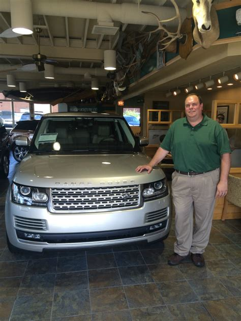 Jaguar Land Rover Of Naperville by Land Rover Hinsdale Sales Guide Dan Gallovitch Wins Trip