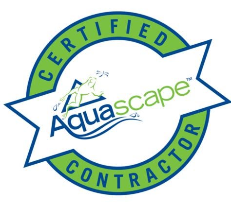 Aquascape Logo by Master Pond Contractor Pa Bucks Montgomery County Pa
