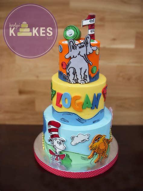 dr seuss kake cake   iced  buttercream
