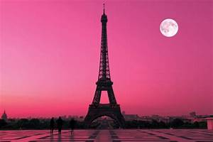 Eiffel Tower Wallpaper Pink | Desktop Backgrounds for Free ...