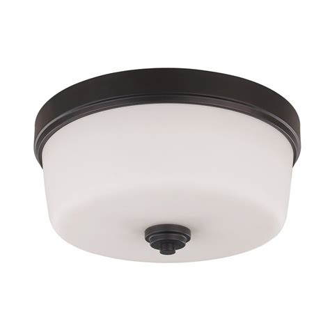 oil rubbed bronze ceiling fan with light flush mount shop canarm jackson 15 75 in w oil rubbed bronze ceiling
