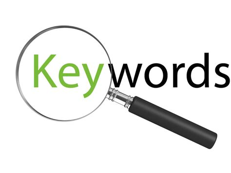 Step-identify Your Keywords-how To Conduct A