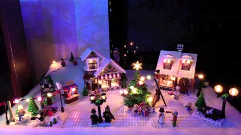 seasons   lego christmas village youtube