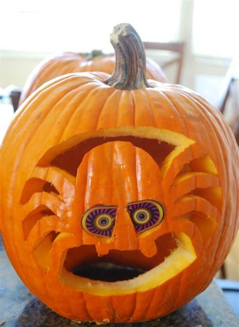 kuerbis schnitzen  ideen zu halloween zum nachmachen