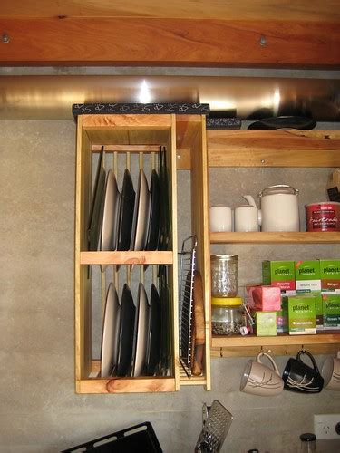 plate storage  drying rack pioneering   home front