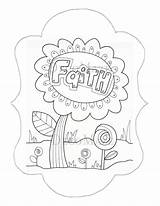 Coloring Faith Seed Mustard Hope Colouring Adult Template sketch template