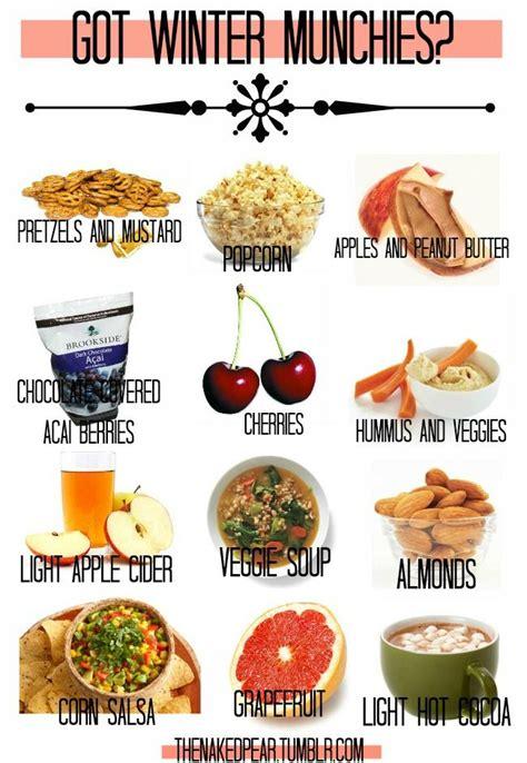 winter munchies healthy alternatives healthweight