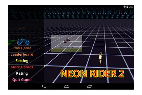 neon rider 2 game download
