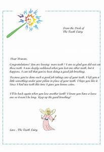 free coloring pages of tooth fairy letter With free printable tooth fairy letter template
