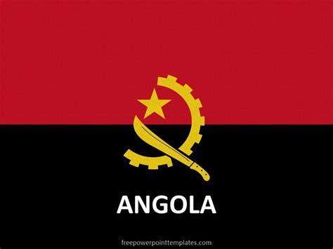 angola flag freepowerpointtemplates
