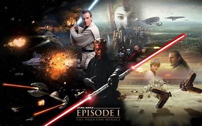 Wars Star Episode Phantom Menace Hope Wallpapers