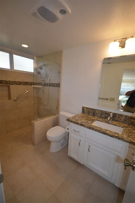 threshold shower bathroom remodel lompoc ca