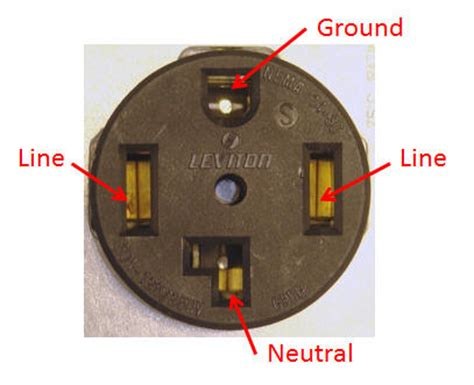 4 Prong Outlet Wiring Diagram by Volt Outlets Volt Outlets Wiring Diagram Symbols Page