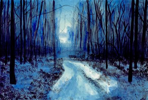 Dark Forest Astral Kepeire Paintings Prints