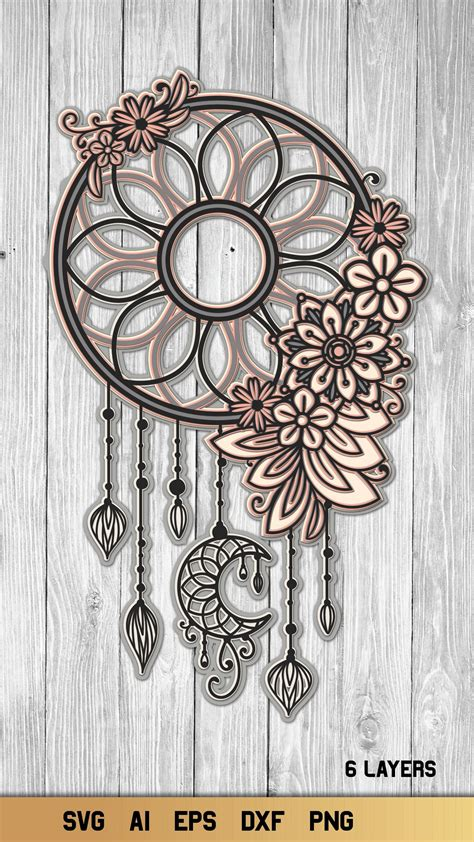 Hi all, i have been using the trail for both affinity designer and photo, just to see if it is everything i would need to design certain things to cut on my cricut. Free Svg Moon Child Dreamcatcher File For Cricut ...