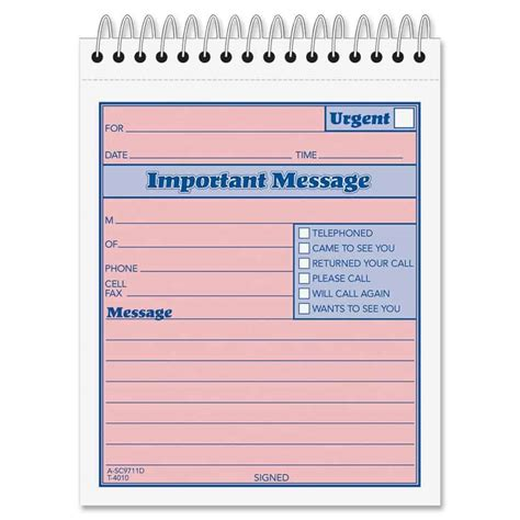 phone message templates excel  formats