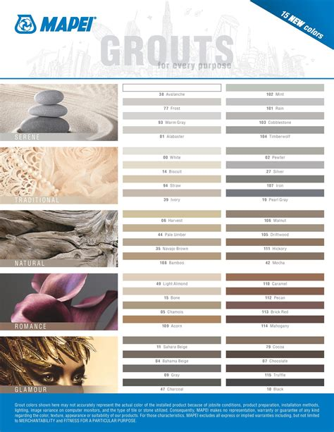 how to color grout image result for mapei grout colors products mapei