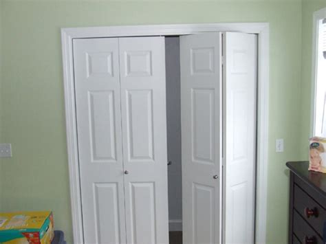 how to install bi fold closet doors