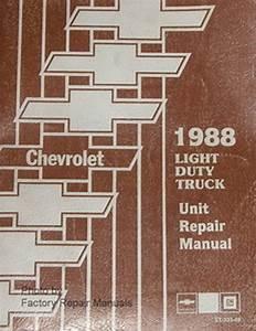 1988 Chevy Blazer Repair Manual