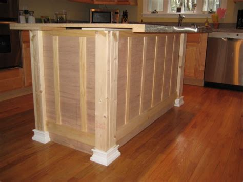 how to build kitchen island building a kitchen island from scratch woodworking