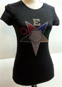 Eastern Star Rhinestone Shirt